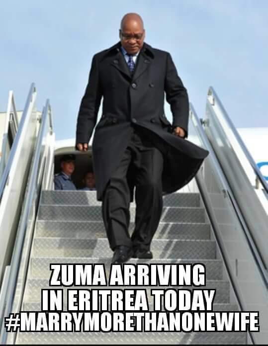 Jacob Zuma Eritrea meme