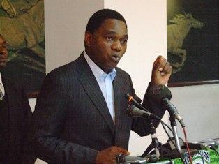 Risultati immagini per hichilema zambia