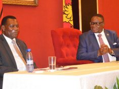 George Chaponda with Peter Mutharika