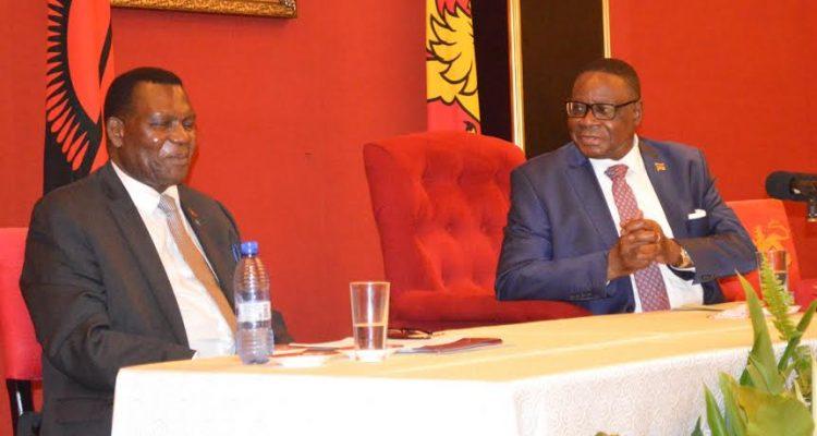 George Chaponda with Peter Mutharika