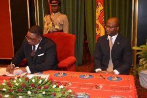 Atupele Muluzi, Peter Mutharika